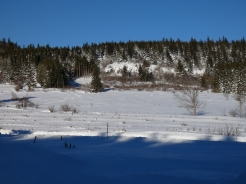 Vu sur le Montivernoux et le domaine raquettes